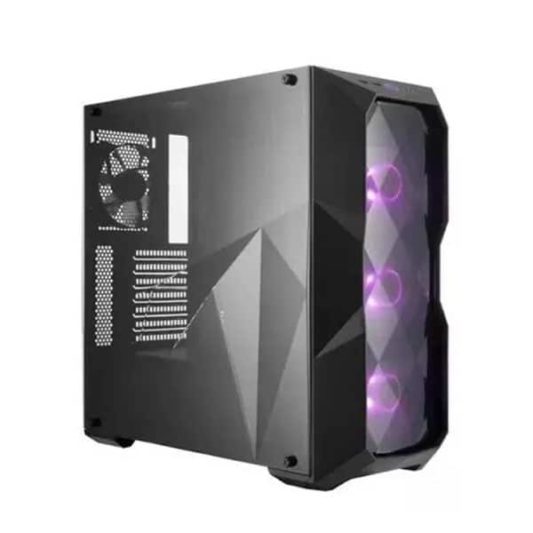 CHASIS COOLER MASTER TD500 RGB FUENTE 500w, The Mark